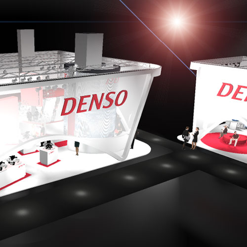 Denso Messestand 02