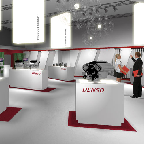 Denso Messestand 04