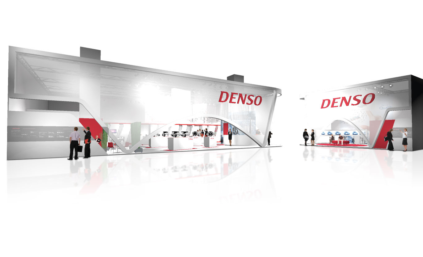 Denso Messestand 01